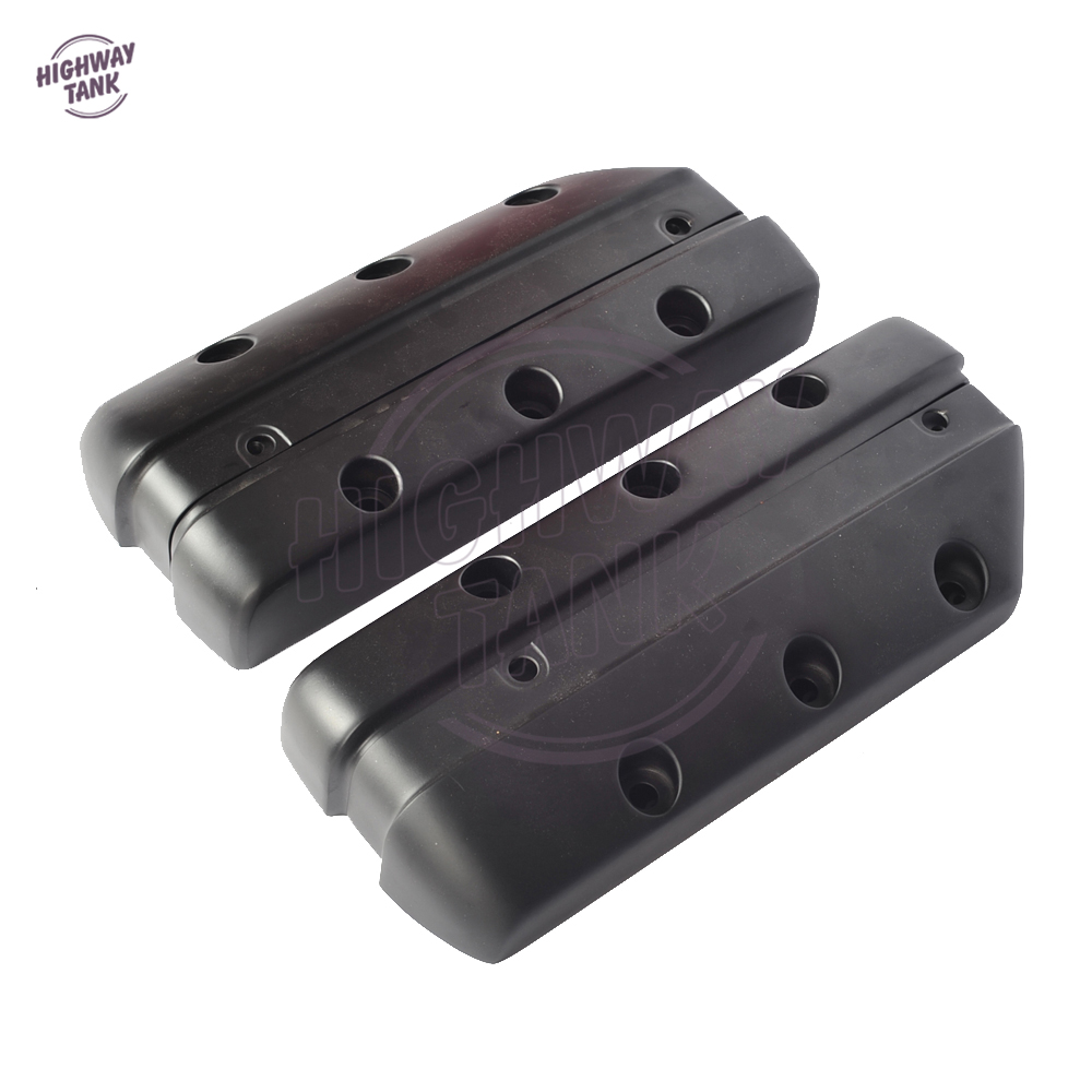 Black CNC Aluminum Motorcycle Right Left Cylinder Head Valve Cover case for Honda GL1800 Goldwing 2001-2017