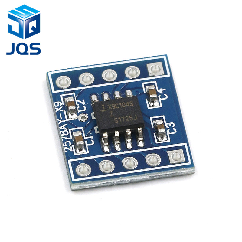 X9c104 Digital Potentiometer Module 100 Digital Potentiometer To Adjust The Bridge Balance
