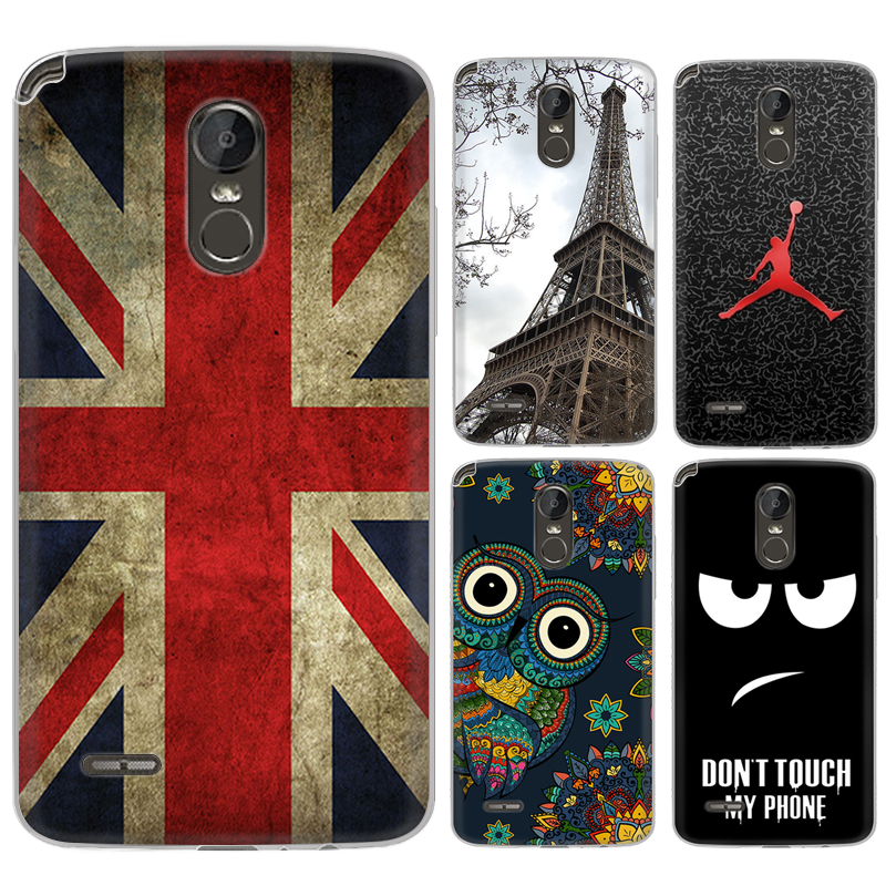 Phone case For LG Stylus 3/LG Stylo 3 5.7-inch Cute Cartoon High Quality Painted TPU Soft Case Silicone Cover
