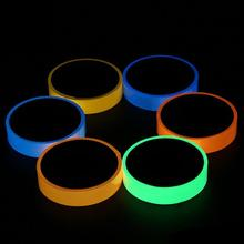 Reflective Glow Tape Self-adhesive Sticker Removable Luminous Fluorescent Glowing Dark Striking Warning 20mmx3m
