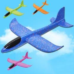 35 см DIY детские игрушки рука бросить Летающий планер самолеты пены модель аэроплана вечерние мешок наполнители Летающий планер самолет
