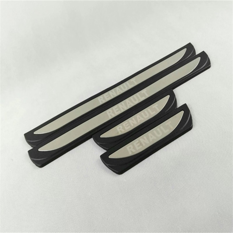 RENAULT KADJAR Carbon Fiber DOOR SILL Protector Guard Vinyl Sticker EXCLUSIVE