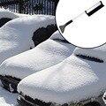 Aluminium Alloy Retractable Snow Brush Car vehicle Snow Ice Scraper Auto Roadway SnoBroom winter Snowbrush Shovel Removal Brush
