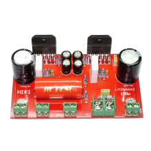 LM3886*2 100W DC+/-30V Mono Power Amplifier Finished Board YJ00191 lm3886 68w 68w stereo amplifier board 3pcs total
