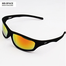HD.space men and women bicycles outdoor sports glasses full frame sunglasses UV400 beach glasses Fishing Sunglasses