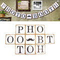 Festive & Party Supplies Party Decorations Bunting PHOTO BOOTH Vintage Banners Birthday Wedding Decoration Photo Prop