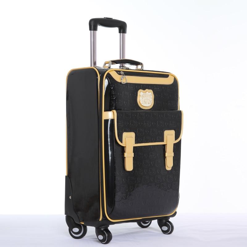 Groothandel! 16 20 24 inch cartoon kt reisbagage tassen op universele - Trolley en reistassen - Foto 3