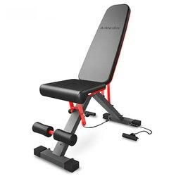 Многофункциональная 3 в 1 регулируемая скамья для сидения, скамья для тренировки всего тела, стальная рама, оборудование для тренажерного за...