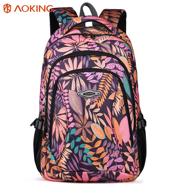 Aoking Brand 2017 Daily Women Backpack For School Teenager Girls ...