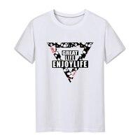 2018 Unisex LoversT Shirt For Men Women Short Sleeve 100 180g Combed Cotton Print T Shirt