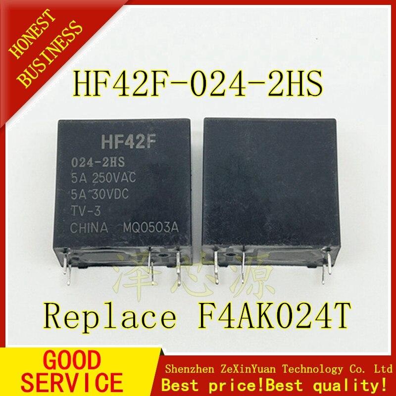 10PCS/LOT  F4AK024T Best Quality FTR-F4AK024T F4AK024 ONLY SEND HF42F-024-2HS