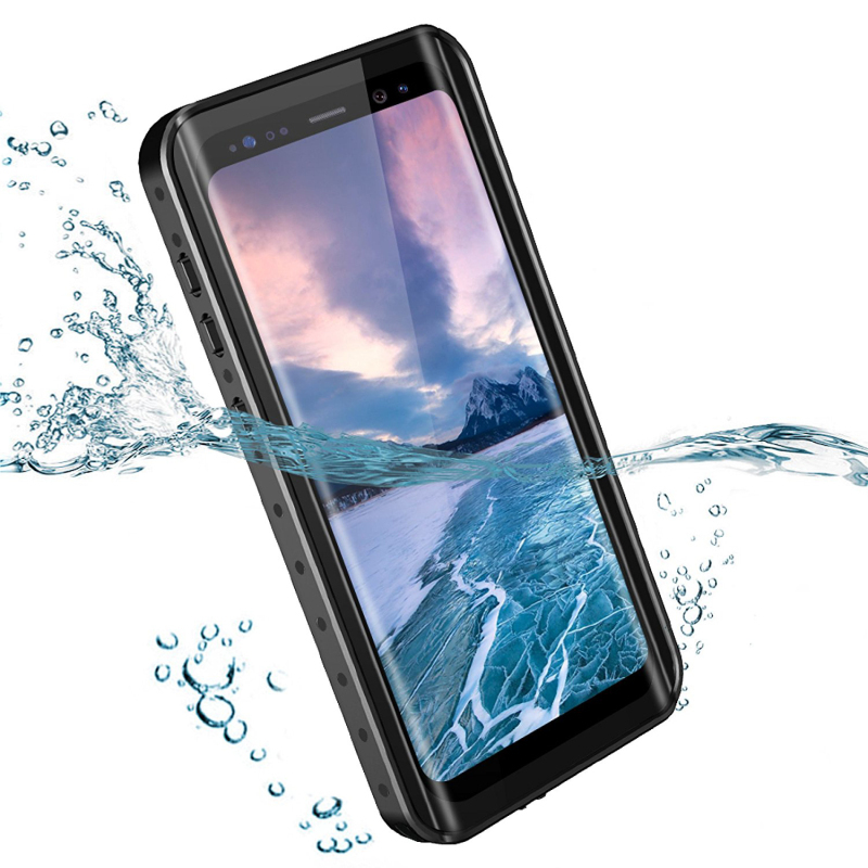 Waterproof Case for Samsung Galaxy S9 Plus Case 360 Full Protection Clear Front Back Cover for