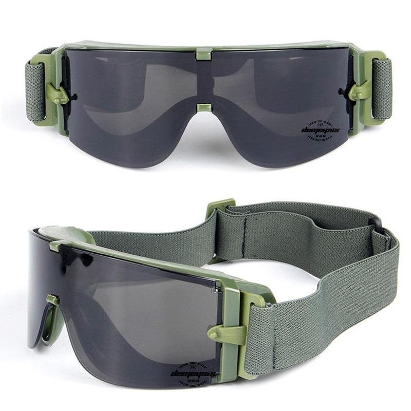caminhadas óculos de sol do exército tático