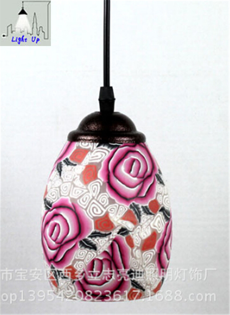 ФОТО new arrival ceramic hand made Chnese style pendent lights for dining room bar decor lamps N1170