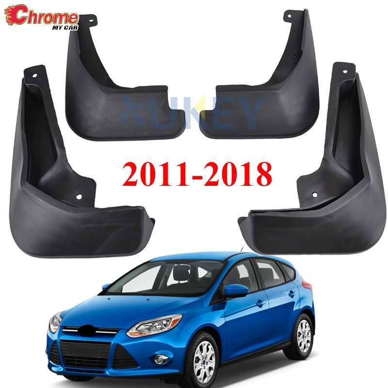 Conjunto de guardabarros para Ford Focus 3 MK3. 2011, 2012, 2013, 2014, 2015, 2016, 2017, 2018 guardabarros Splash los guardias