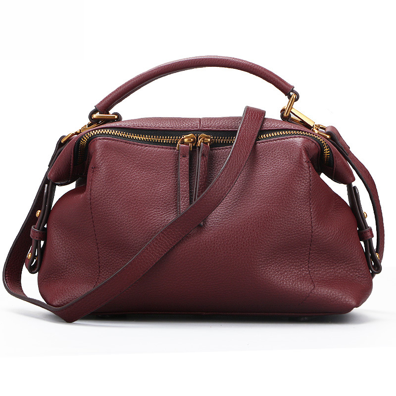 Bag female 2018 new shoulder Messenger bag handbag female Korean version of the lady bag wild leather handbag