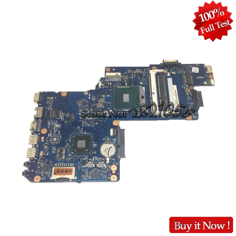 NOKOTION New H000052740 Main Board For Toshiba Satellite L850 C850 Laptop Motherboard 15.6 inch HM70 DDR3 Free cpu free shipping for toshiba satellite l640 l645 a000073390 notebook laptop motherboard 100