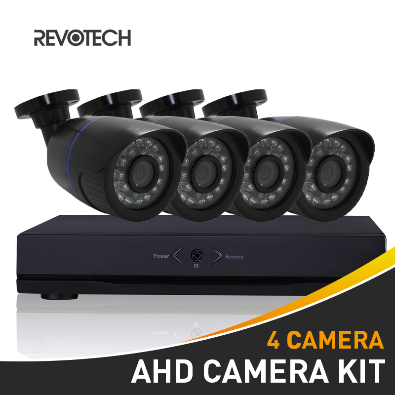 4CH 1080P CCTV AHD Camera System Kit 60ft Cable HD 4 Channel 1080N DVR 4PCS 2