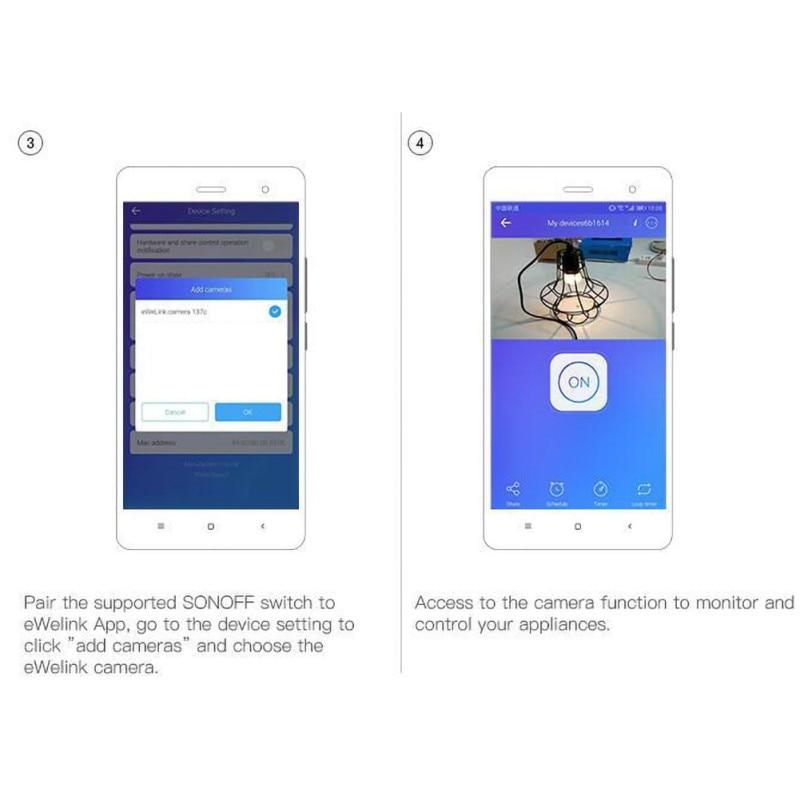 433 RF R3 умный Переключатель ВКЛ/ВЫКЛ WiFi, Поддержка приложения/433 RF/LAN/голосовой пульт дистанционного управления DIY режим работает с Alexa Google Home - 4