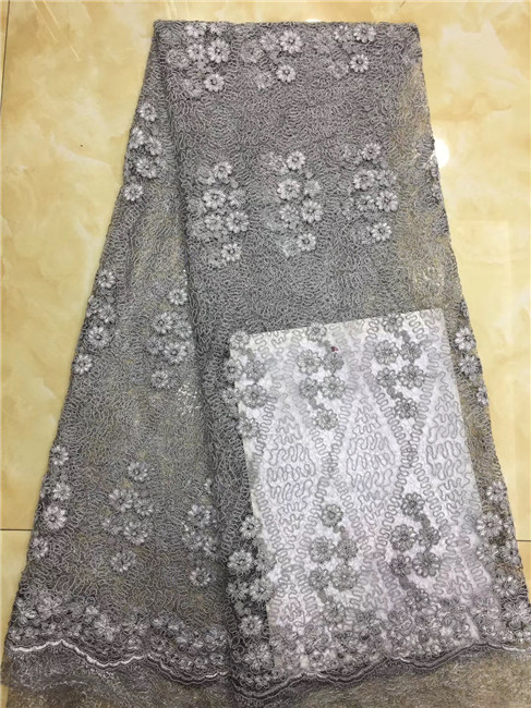Nigerian Lace Fabrics 2018 African Lace Fabric Latest French Tulle Lace Embroidered Dubai African French Cord Lace Fabric 317 Fashionable And Attractive Packages Apparel Sewing & Fabric