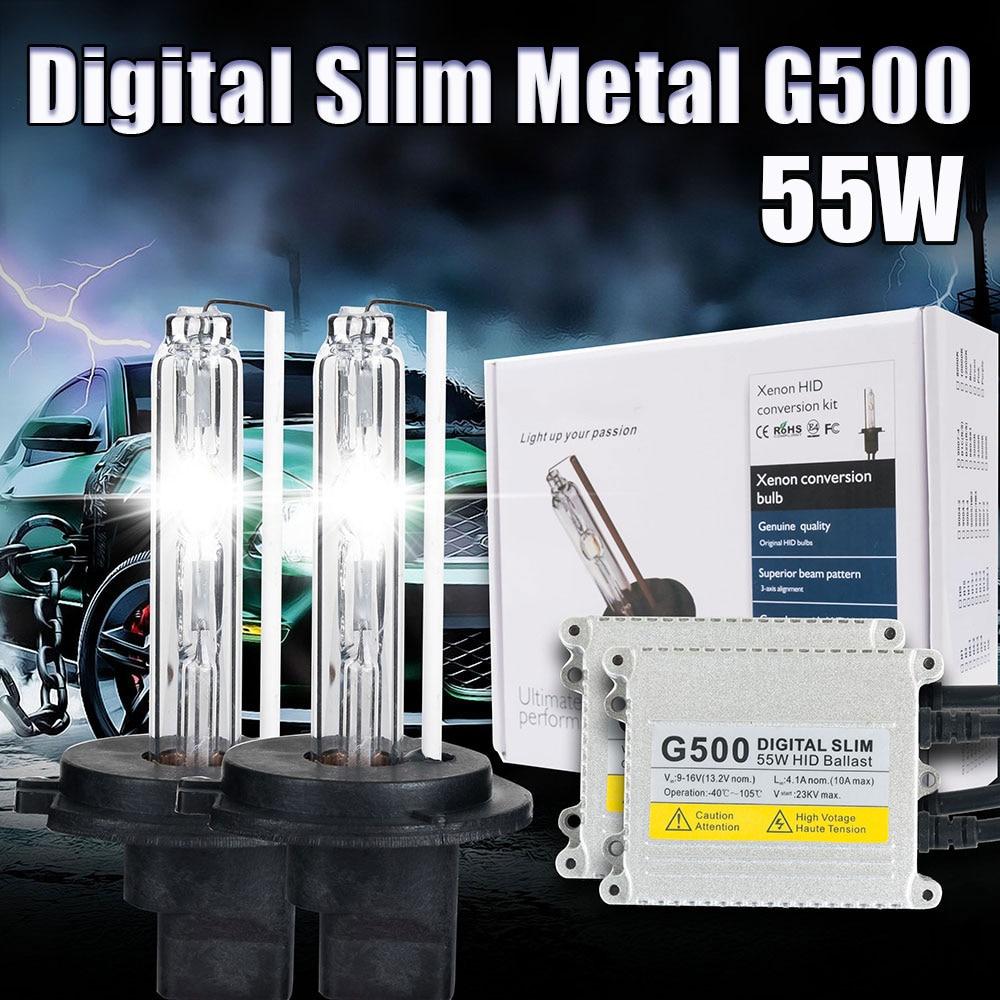 AC 55W H7 קסנון D2S H4 H1 H11 H3 HB4 H8 9005 HB3 9006 ערכת - אורות רכב