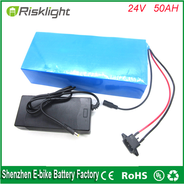 Electric Bicycle Battery 24v 50ah ebike lithium ion battery  24v  750w bicycle electric bike battery  with 5A  charger and bms 24v 15ah lithium battery pack 24v 15ah battery li ion for 24v bicycle battery pack 350w e bike 250w motor with 15a bms charger