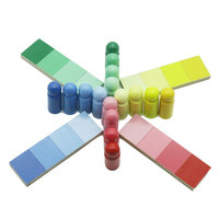 Montessori Toy Kids Color Resemblance Sorting Task Learning Educational Preschool Early Sensorial Educativo Toys B2166T