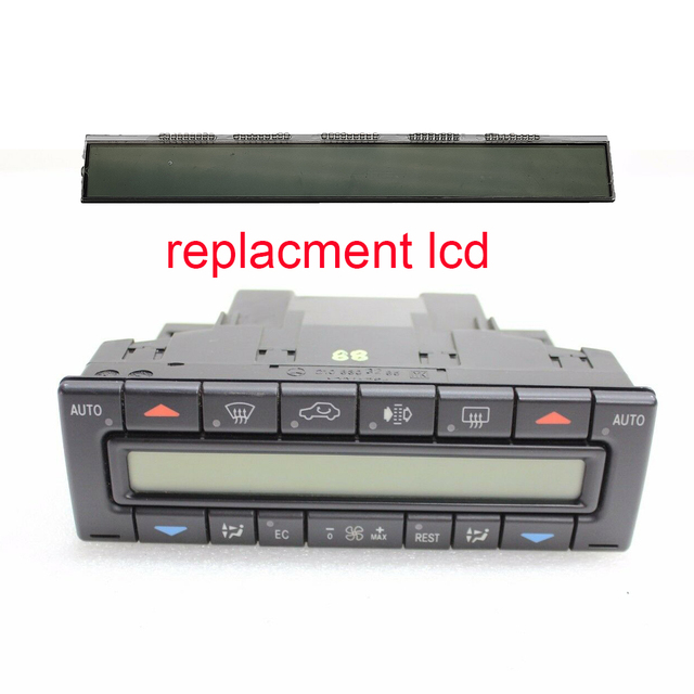 US $16 42 |AC Air Conditioner Heater Temperature Climate Control Unit  display lcd for Mercedes E class W210 1996 2002-in Car Monitors from  Automobiles