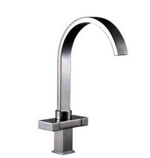 Free Shipping Dual handle kitchen Bathroom basin sink faucet waterfall mixer tap 2012 new arrived 1pcs