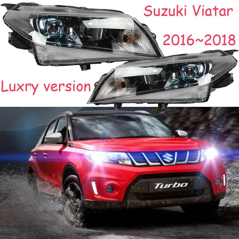 HID,2016~2018,Car Styling for Vitara Headlight,Aerio,Ciaz,Reno,kizashi,s-cross,samurai,Forenza,Equator,sidekick,Vitara head lamp магазин где можно купить машину reno