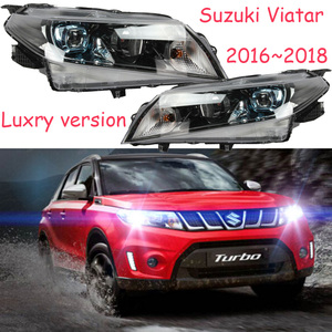 HID,2016~2018,Car Styling for Vitara Headlight,Aerio,Ciaz,Reno,kizashi,s-cross,samurai,Forenza,Equator,sidekick,Vitara head lamp(China)