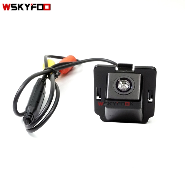 car rear view reverse backup camera for mitsubishi outlander xl/ outlander  / citroen c-crosser / peugeot 4007 wireless camera