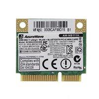 SSEA Novo Cartão Sem Fio para Broadcom BCM943228HMB BCM43228 Metade MINI PCI-E 2.4g/5 ghz 802.11b/g/ n WI-FI Bluetooth 4.0