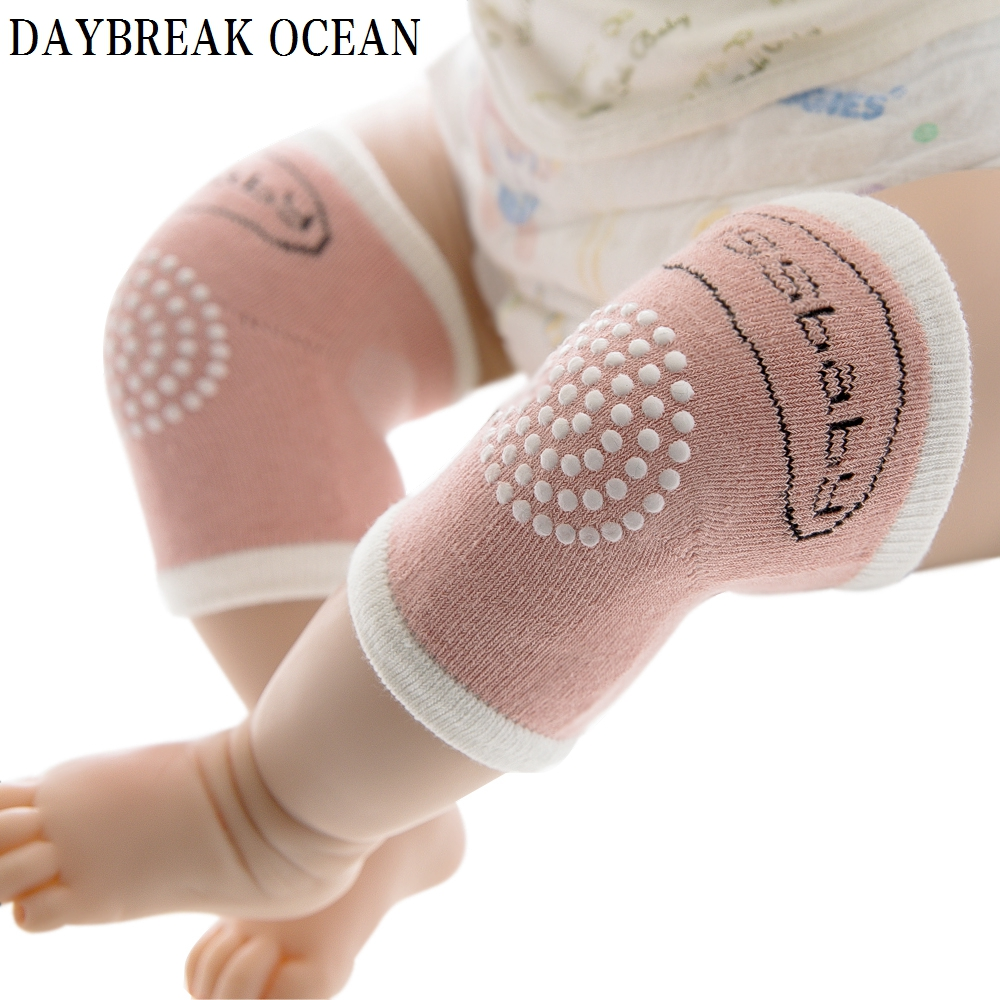 Toddler Kids Kneepad Protector Mesh Soft Thicken Terry Non-Slip Dispensing Baby Cotton Leg Warmers Well Knee Pads For Children