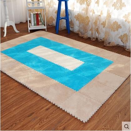 1pcs free shipping 50cmx70cm Super Soft Solid Color White Carpet/Floor Rug/ Living room carpet/Area Rug