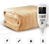 Security Dual Temperature Timing Controller Electric Bed Blanket Household Electric Mattress Soft Mat Warmer Heating Pad