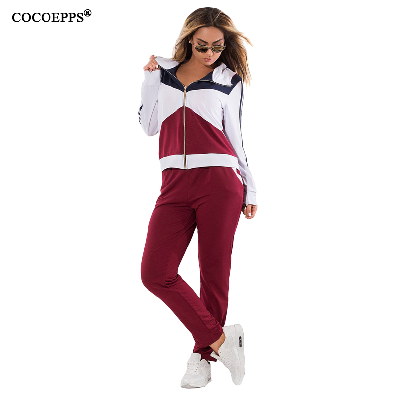 Plus Size Casual Tracksuit For Women 2017 Winter Two Piece Sets Long Sleeve Hoodies Sweatshirts Women Clothing Bodysuit 6XL 5XL ...