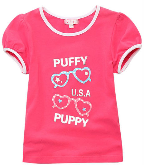 Freeshipping summer red white Children Girl Kids baby Cute princess style short sleeve shirt / blouse  clothing top PCXZ01P24