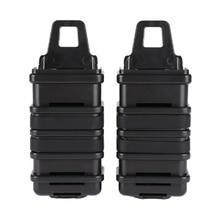 Tactical Magazine Pouch Bag MP7/MP5 FAST Magazine Holster Set Polymer Black DE FG 2PCS/LOT
