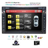 2 din Car DVD GPS radio stereo player for Old Volkswagen VW golf passat MK3 MK4 MK5 Touran polo seat skoda TRANSPORTER T4 T5 CAM