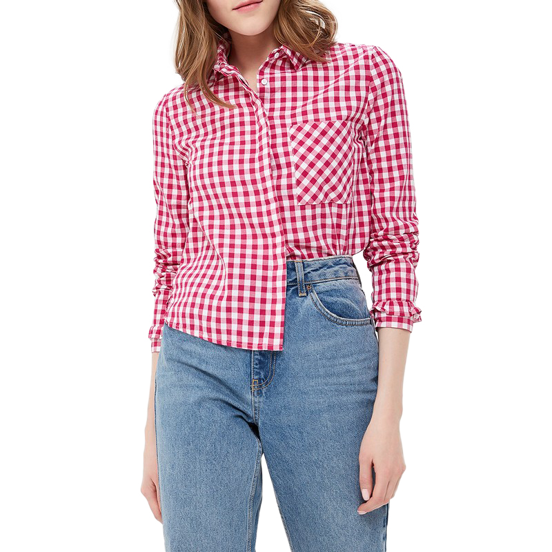 Blouses & Shirts MODIS M181W00375 woman blouse shirt blusas for female TmallFS plus collar knot blouses
