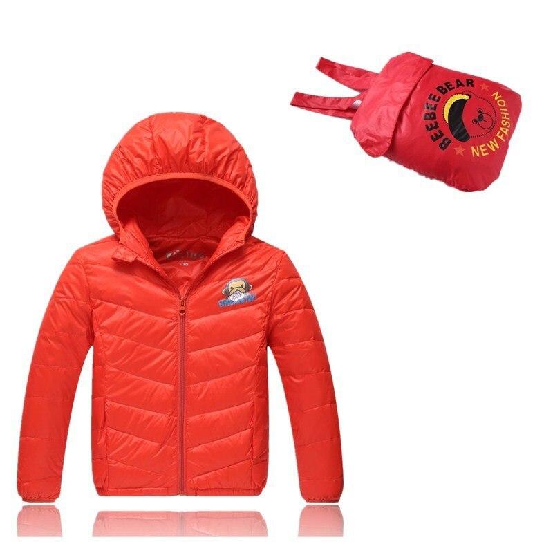 Girls and boys fashion children winter coat hooded winter outerwear cute design fashion coat 2018 winter fashion boys
