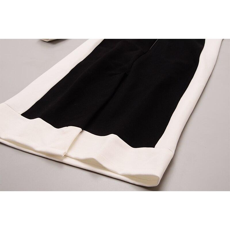 Nouvelle Gaine Slash Manches Haute Mince Robe Pic Off Taille 2018 Sexy Cou As Femmes Épaule De Patchwork Mode Loog 3FT1JuclK