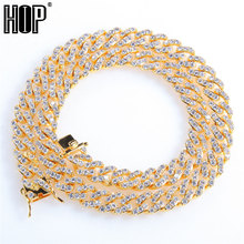 Hip Hop 8MM Bling Iced Out Cubic Zirconia Bracelet Necklace AAA CZ Stone Tennis Cuban Chain Bracelets For Men Women Jewelry xukim jewelry full iced out prong setting aaa cubic zirconia silver color 8mm squire cuban chain necklace hip hop rapper jewelry