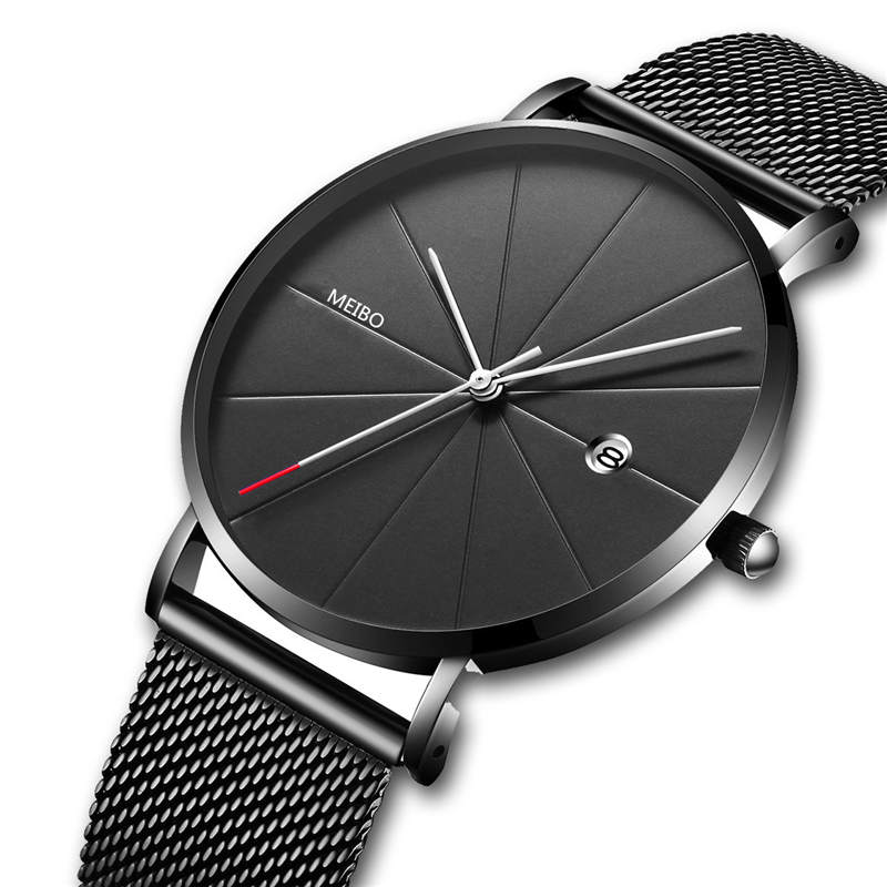 CTPOR Luxury Watches Men Black Stainless Steel High grade Watches Men Classic Quartz Date Men's Wrist Watch Relogio Masculino D ctpor luxury watches men black stainless steel ultra thin watches men classic quartz date men s wrist watch relogio masculino d