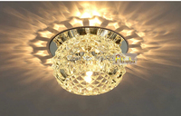 Stunning New 3w Led Aisle Crystal Ceiling Light Fixture Guaranteed 100 Free Shipping