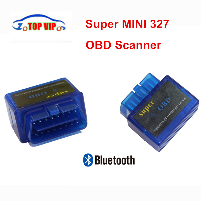 2018 Latest Version MINI elm327 V2.1 Scanner Blue Elm327 Bluetooth OBD2 Diagnostic Interface Wireless Super Elm 327 scanner