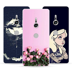На Алиэкспресс купить стекло для смартфона cartoon color series case for sony xperia xz3,mobile phone shell, tpu material painted color painting case.25 colors!