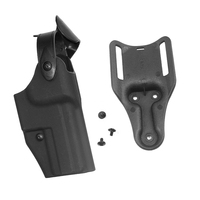Hunting Gun Accessories Tactical Gun Holster Airsoft Paintall Belt Holster fits for HK USP Compact