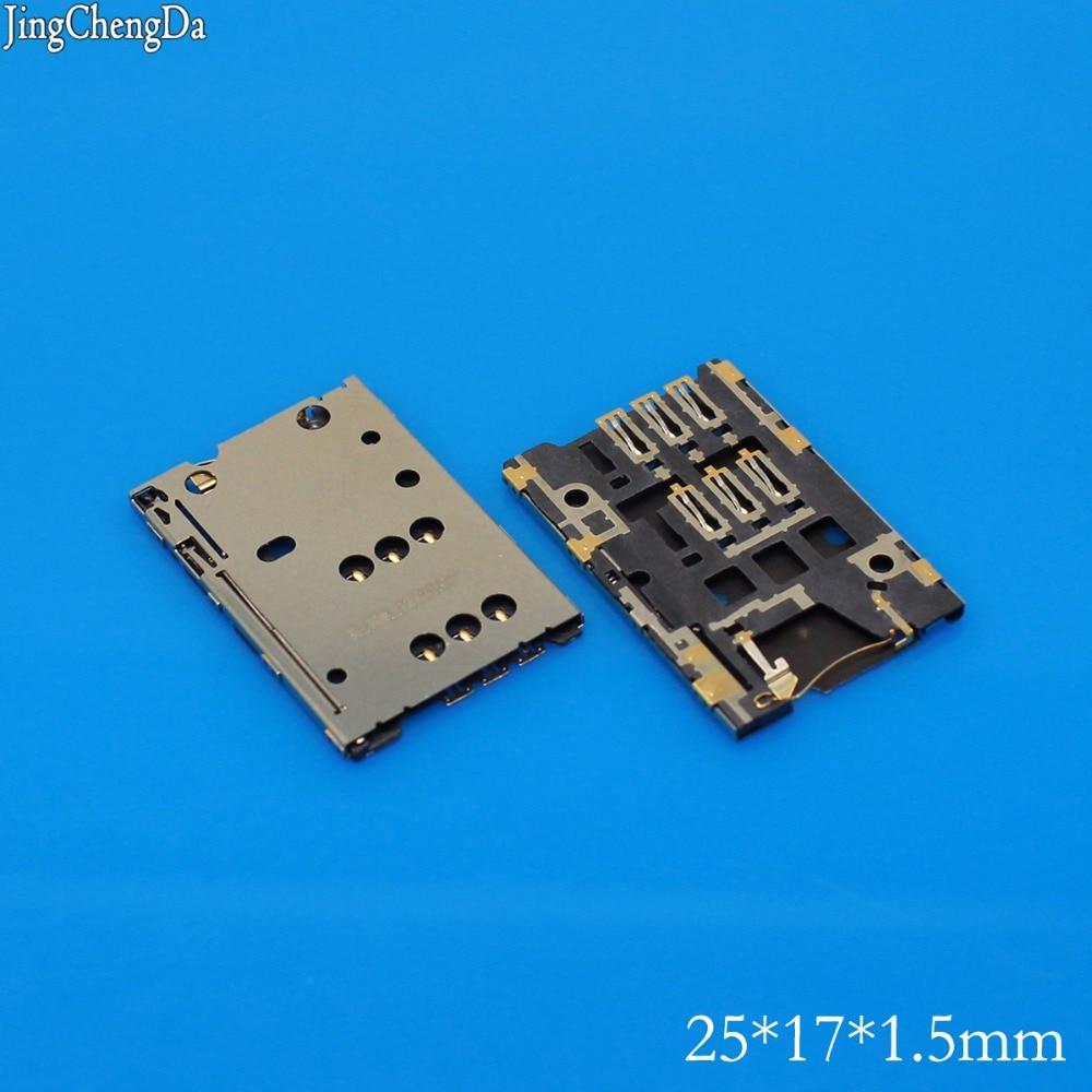 Jing Cheng Da 1pcs SIM card reader connector holder for Nokia 112 202 Asha 305 Asha 306 Asha 308 C2-00 C2-03 C2-06 SIM Tray